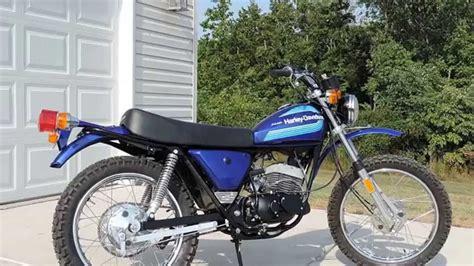 harley davidson 125cc 1976 harley davidson sxt 125