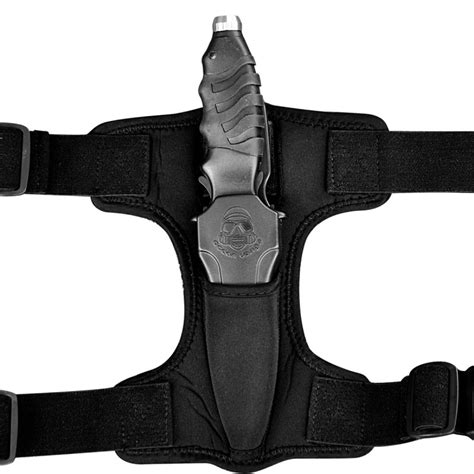 ocean design apollo sqr knife neoprene holster  scuba