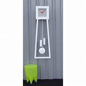 Horloge Moderne Murale : horloge comtoise murale epur e pm heure cr ation ~ Teatrodelosmanantiales.com Idées de Décoration