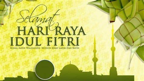 terbaru kumpulan ucapan selamat hari raya idul fitri  bahasa indonesia inggris kartu