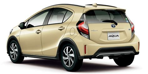 crossover toyota toyota prius c gets crossover update in japan update