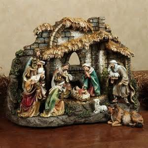 10 pc joseph studio collection nativity set by roman