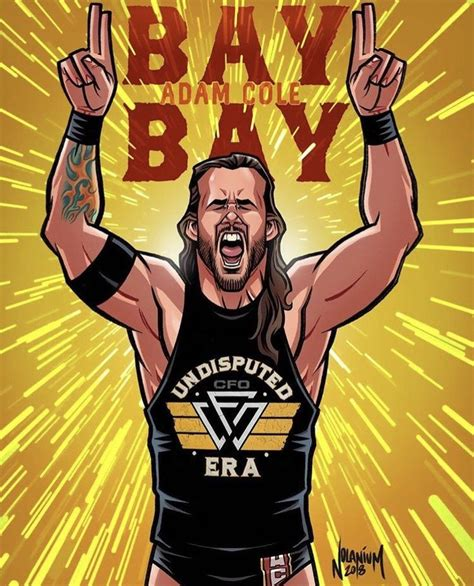 Pin by JAY DRIGUEZ on ART/TOONS   Adam cole wwe, Wwe ...