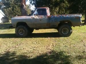 Lifted 4x4 Dodge MUD Trucks
