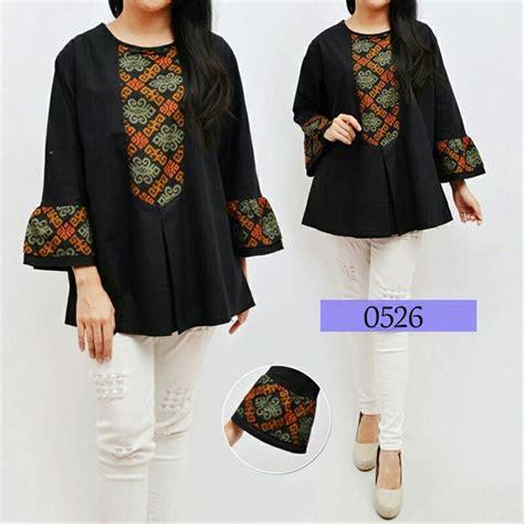 Blouse Atasan Wanita jual jumbo blouse batik baju atasan wanita fit to xxxl