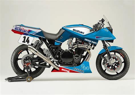 suzuki samurai motorcycle suzuki to build katana endurance racer at motorcycle live