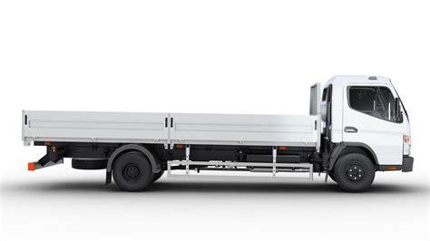 mitsubishi truck mitsubishi fuso canter open body 3d model max obj fbx mtl