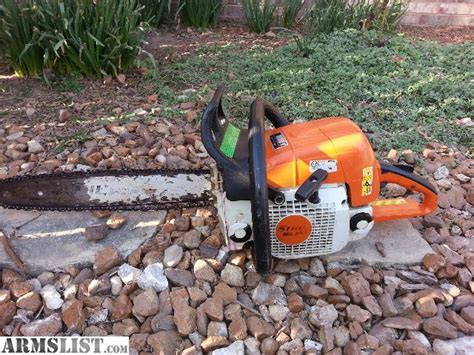 ARMSLIST   For Sale: stihl ms290 chainsaw 20 inch bar