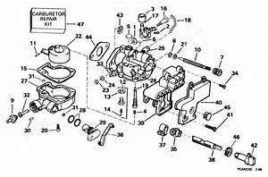 Evinrude 1998 4 - E4brlecrj  Carburetor