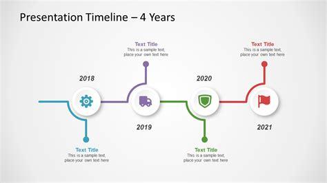 leer en linea  creative timeline powerpoint template