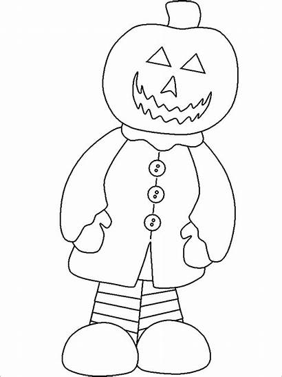 Halloween Coloring Pages Jack Lantern Party Templates