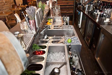 implantation cuisine en l cafés hôtels restaurants votre bar est il bien agencé