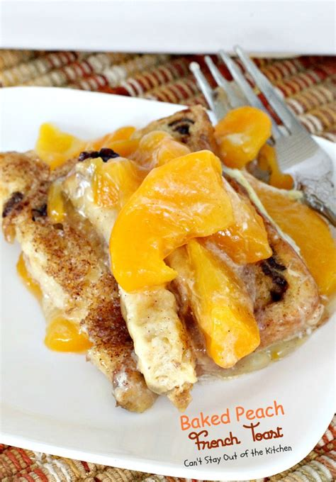 Apple Pie French Toast Can Stay Out The Kitchen