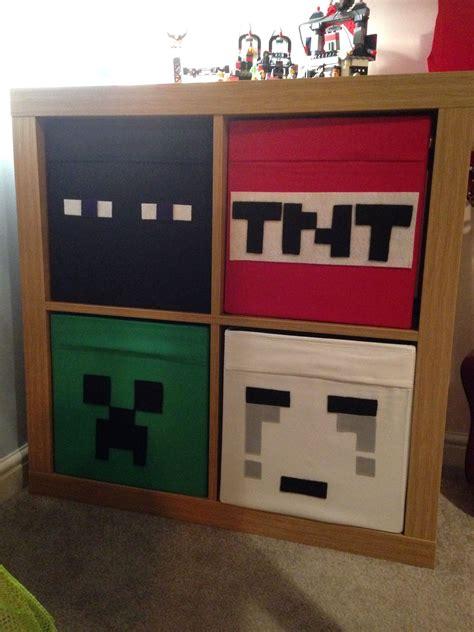 Deko Häuser Kinderzimmer by Ikea Hack Minecraft Diy Regal F 252 R Das Kinderzimmer
