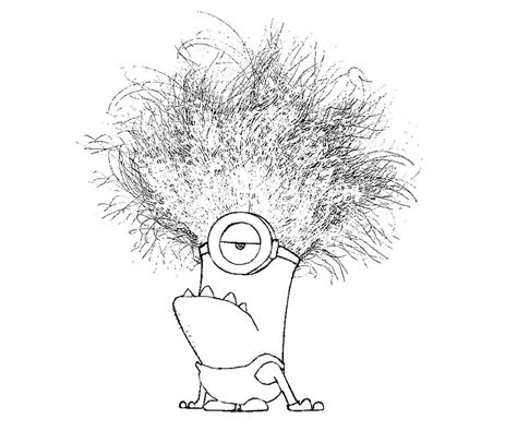 Images Of Evil Minion Coloring Pages Summer