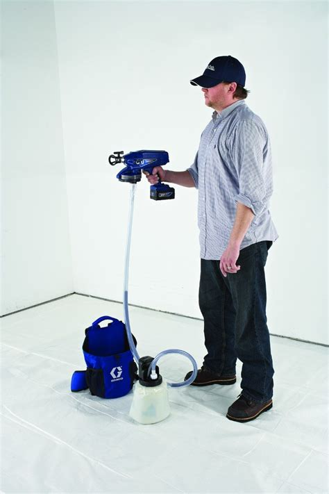 graco propack portable spray pack backpack