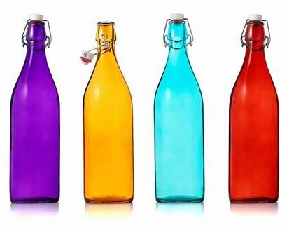 Bottles Glass Bottle Decorative Jars Water Italian