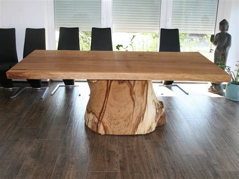 solid wood dining table 0101 by holz design braun braun