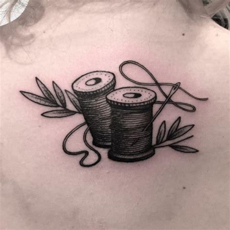 amazing sewing tattoos
