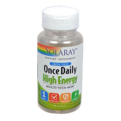 solaray once daily prenatal multivitamin 90 once daily iron free by solaray 60 capsules Buy