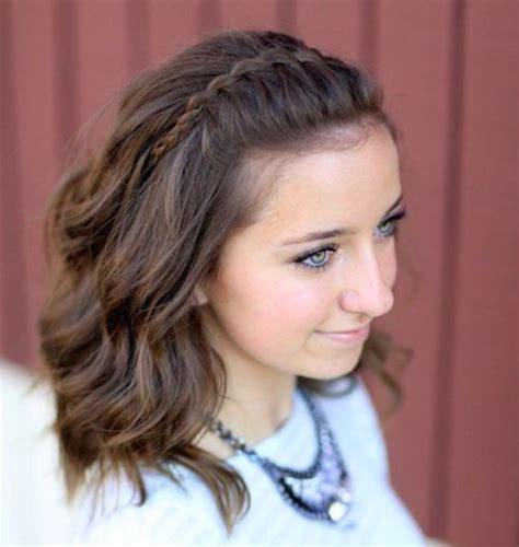 Hairstyles For Medium Length Hair Diy Cute And Easy Hair