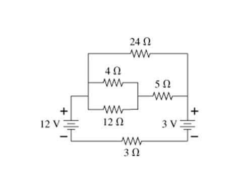 Solved For The Circuit Shown Figure Find