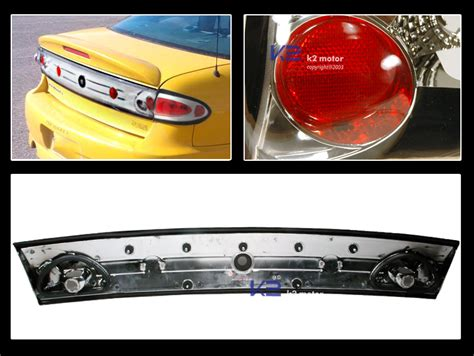 Chevy Cavalier Chrome Trunk Tail Lights