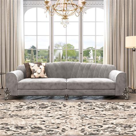 And Grey Sofa by Classic Luxury Nubuck Leather Grey Sofa