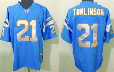 San Diego Chargers 80 Winslow Throwback Light Blue Jersey