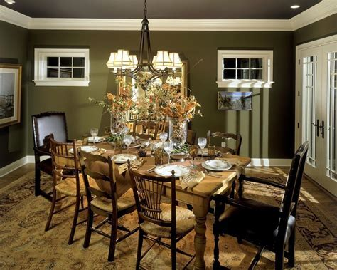 olive green living room traditional with armchairs and