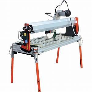 Scie Sur Table Evolution : scie sur table dyn cut coupe de carrelage brique moteur ~ Melissatoandfro.com Idées de Décoration