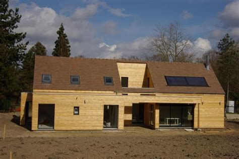 maison en panneaux de bois construction d une maison en bois et 233 cologique
