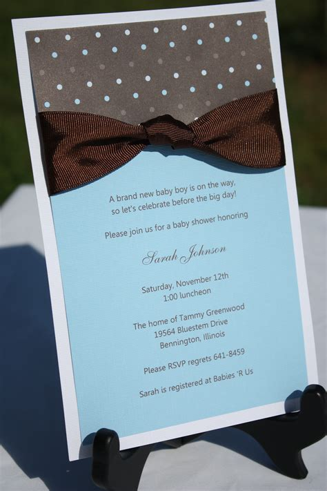 baby boy shower invites dolanpedia invitations template