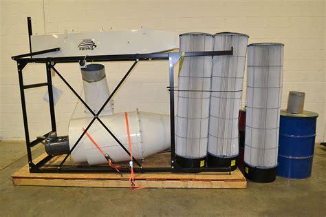 direct drive plenum oneida direct drive cyclone 10hp 3800csm dust collector