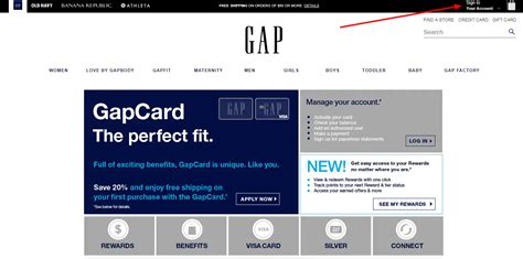 Your new credit card must be used as sole payment type. Log in to your Gap Credit Card Account ️ Log In