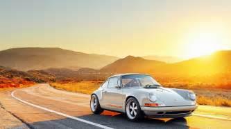 porsche 911 turbo s cost sonnenuntergang hintergrundbilder hd hintergrundbilder