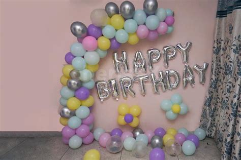 This round happy birthday foil balloon is a cute addition to your birthday party decorations. Pastel Balloons Birthday Decoration with Happy Birthday Letter Foil Balloons