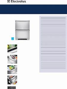 Electrolux Refrigerator Ei24rd65hs User Guide