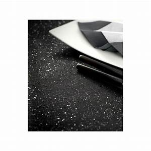 Nappe Noire Papier : chemin de table tulle noir paillet 5 m ~ Teatrodelosmanantiales.com Idées de Décoration