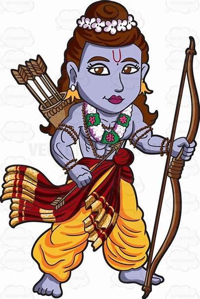 Hindu Rama God Hanuman Cartoon Clipart Krishna
