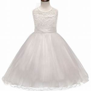 aliexpresscom buy elegant teenage girl dress white lace With wedding dresses for teenage girl
