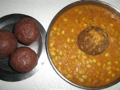 millet cuisine ragi mudde recipe ragi balls recipe vegetarian recipe