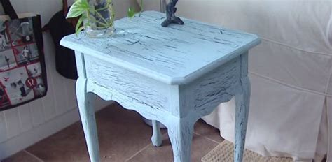diy spray paint wood furniture
