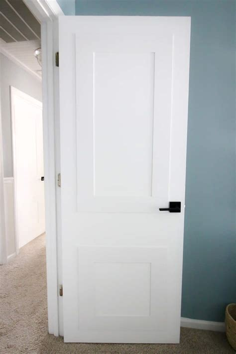 updating interior doors  molding