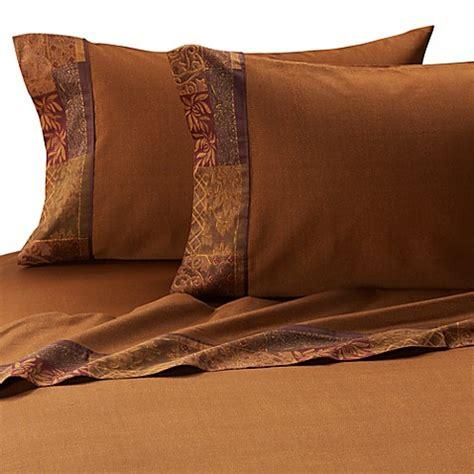 croscill 174 galleria sheet set in red bed bath beyond