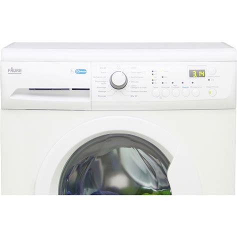 test faure fwf7125pw lave linge ufc que choisir