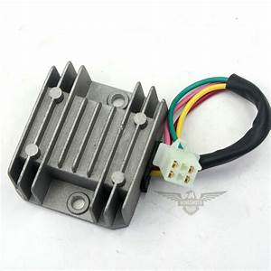 4 Wire Voltage Regulator Rectifier Atv Gy6 50 150cc