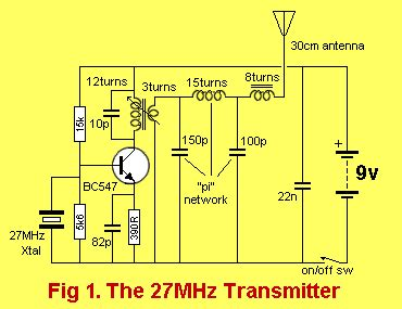 Mhz Transmitter With Crystal Electronics