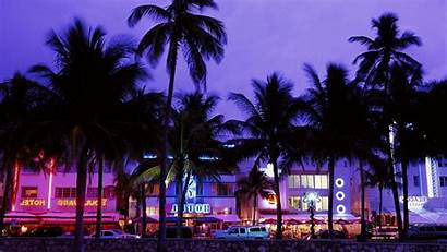 Vice Beach Wallpapers Neon Palm Theft Grand