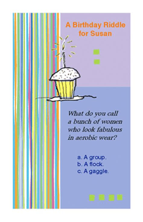 happy birthday riddles birthday riddle greeting card happy birthday printable card american greetings